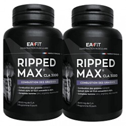 EAFIT RIPPED MAX CLA 3000 15 JOURS 60CP LOT 2