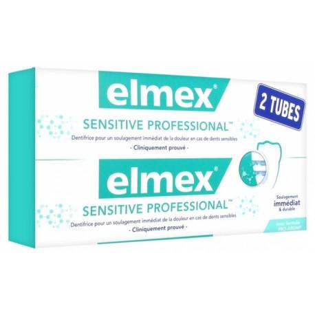 ELMEX SENSITIVE PROFESSIONAL LOT 2X 75ML