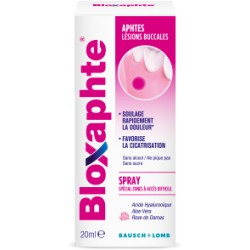 BLOXAPHTE APHTES LESIONS BUCCALES SPRAY 20ML