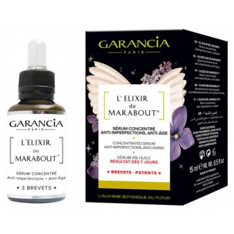 GARANCIA L'ELIXIR DU MARABOUT SERUM CONCENTRE ANTI-IMPERFECTIONS, ANTI-AGE 15ML