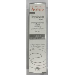 AVENE PHYSIOLIFT PROTECT CREME PROTECTRICE LISSANTE SPF30 FERMETE RIDES INSTALLEES 30ML