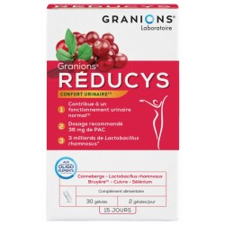GRANIONS REDUCYS CONFORT URINAIRE 30GELULES 15 JOURS