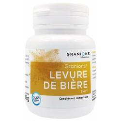 GRANIONS LEVURE DE BIERE 60 GELULES VEGETALES