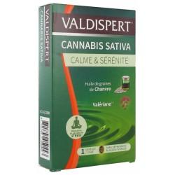 VALDISPERT CANNABIS SATIVA CALME & SERENITE 24 CAPSULES