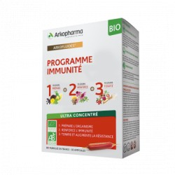 ARKOPHARMA ARKOFLUIDES PROGRAMME IMMUNITE BIO ULTRA CONCENTRE 30 AMPOULES