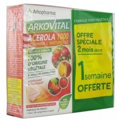 ARKOPHARMA-Acerola-1000-30-comprimés-x-2-boites