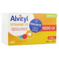 ALVITYL VITAMINE D3 1000UI DES 6ANS 60CAPSULES