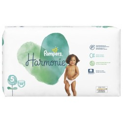 PAMPERS HARMONIE TAILLE 5 11-16KG 58 COUCHES