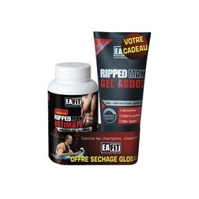 EAFIT Ripped max ultimate 120cp+gel abdos offert
