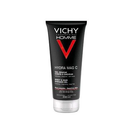 VICHY Homme hydra mag C gel douche hydratant-revigorant 200ml