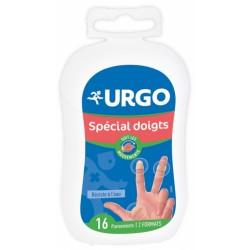 URGO PANSEMENTS SPECIAL DOIGTS 2 FORMATS 16 PANSEMENTS
