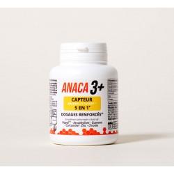 ANACA 3+ CAPTEUR GRAISSES ET SUCRES 5 EN 1 120 GELULES