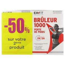 EAFIT BRULEUR 1000 PERTE DE POIDS LOT 2X 60CP