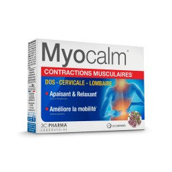 MYOCALM CONTRACTIONS MUSCULAIRES DOS-CERVICALE-LOMBAIRE 30CP