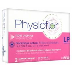 PHYSIOFLOR LP 2 CP VAGINAUX FLORE VAGINALE PROBIOTIQUE