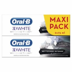 ORAL-B 3D WITHE CHARBON
