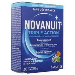 NOVANUIT-Sommeil-triple-action-30-gélules