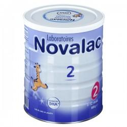 NOVALAC 2E AGE 6-12 MOIS 800G