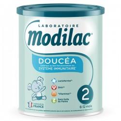 MODILAC DOUCEA 2E AGE 6-12MOIS 800G