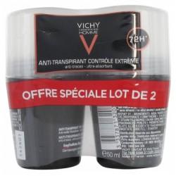 VICHY-Homme-deodorant-bille-régulateur-intense-lot-de-2